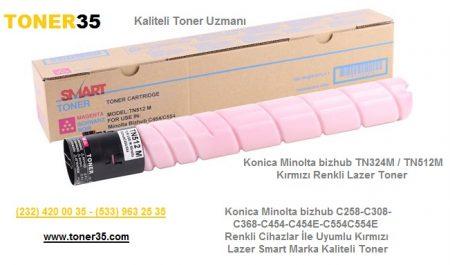 Konica Minolta bizhub Marka Renkli Yazıcı, Fotokopi, Faks Makineleri İçin Smart Marka Toner