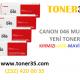 Canon Yazıcı, Fotokopi, Faks Makineleri İçin Renkli Toner