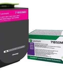 Lexmark Renkli Lazer Yazıcı Fotokopi Faks Toneri